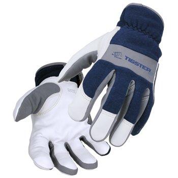 TIGster Premium Flame Resistant Snug Fit Kidskin TIG Welding Gloves-XL