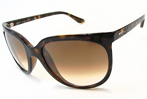Ray Ban RB 4126 Cats 1000 Sunglasses RayBan RB4126 Havana Brown 710/51 Shades