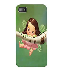 ColourCraft Cute Baby Angel Design Back Case Cover for BLACKBERRY Z10