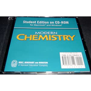 modern chemistry holt rinehart and winston online textbook ...