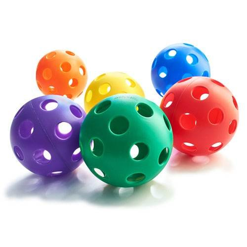Plastic Play Balls - Softball Size
