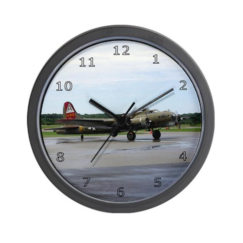 CafePress Boeing B17 Flying Fortress Wall Clock