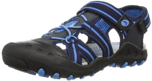 Geox Boys Jr Sandal Kyle C Fashion Sandals J42E1C014CEC4231 Navy/Sky 2.5 UK, 35 EU
