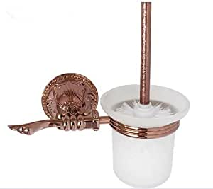 Mt toilet brush and holder rose gold mt26e toilet paper holders - Gold toilet paper holder stand ...