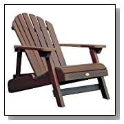 Folding Adirondack Chair - Weathered