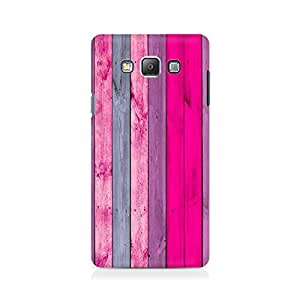 Ebby Pink Wood Premium Printed Case For Samsung On 7
