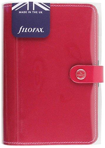 Filofax Personal Patent Fuchsia