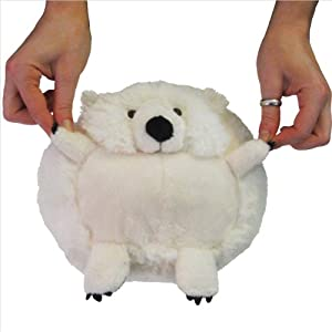 "Mini Squishable Polar Bear (7"") from Squishable"