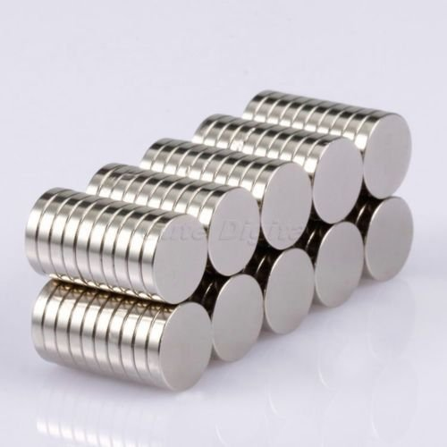 Sunkee 100pcs N50 Super-forza rotondo Cilindro Disco vischiosità magneti magneti al neodimio 10x2mm