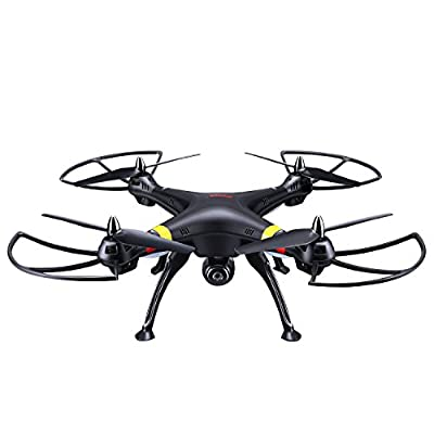 Cheerwing® Syma X8W FPV Real-time 2.4Ghz 4ch 6 Axis Gyro Headless Large RC Quadcopter Drone with HD Camera RTF
