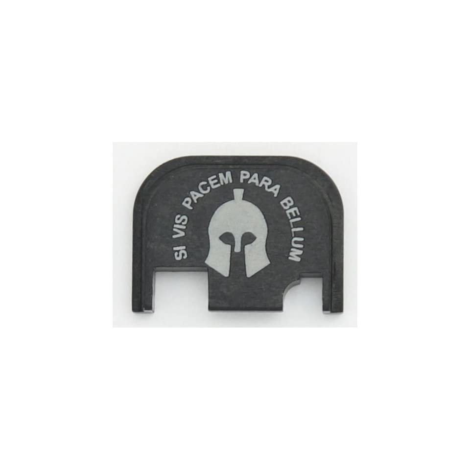 SI VIS PACEM, PARA BELLUM Rear Slide Cover Plate for Glock