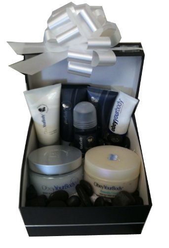 Facial care Luxury Gift set For Man Include: After Shave+Shaving Gel+Deodorant+Foot Cream+Foot Scrub+Body Scrub Salt+Body Butter+Seacret Dead Sea Body Lotion Neutral Free gift