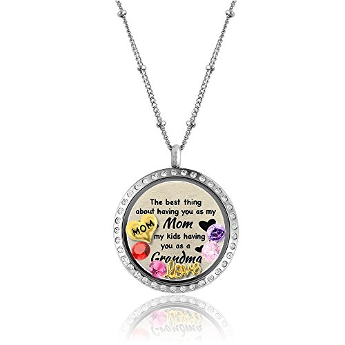 Christmas Gift Mother Daughter Necklace Mom Gifts From