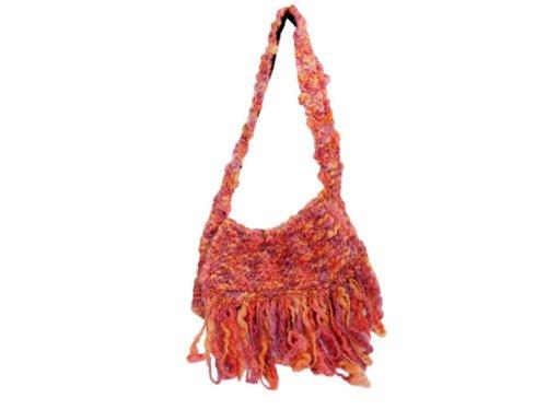 Wholesale Set Of 1, Handmade Sherbet Colored Over-The-Shoulder Bag (Fashion Accessories, Handbags), $29.67/Set Delivered