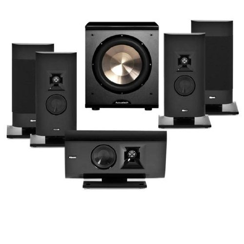 Klipsch Gallery G-12 5.1 Home Theater Bundle-Free Bic Acoustech Pl-200