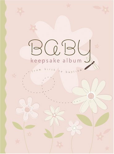 Baby Keepsake Album: From Birth to Baptism (pink)
