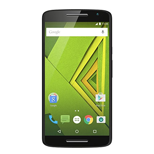 Moto X Play Smartphone (13,9 cm (5,5 Zoll) Display, 16 GB Speicher, Android 5.1) schwarz