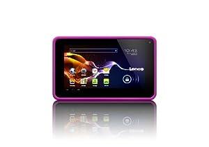 "Lenco Cooltab 72 Tablette Tactile 7"" (17,78 cm) ARM CortexA7 1,2 GHz 4 Go Android Jelly Bean 4.2.1 Wi-Fi Rose"