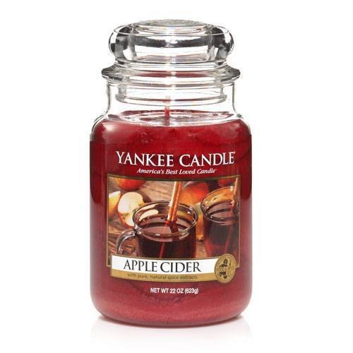 Yankee Candle Apple Cider Large Jar Candle