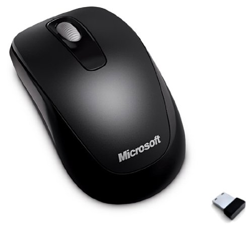 Microsoft Wireless Mobile Mouse 1000 - Black