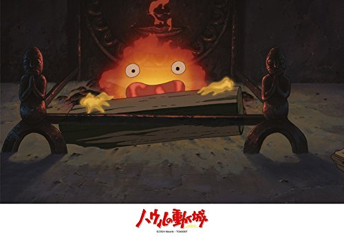 108ピース ジグソーパズル ハウルの動く城 カルシファー  (18.2x25.7cm)