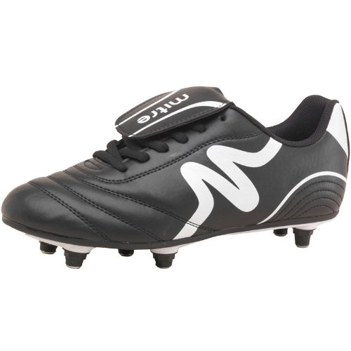 Mitre Junior Intent SG Football Boots Black/White