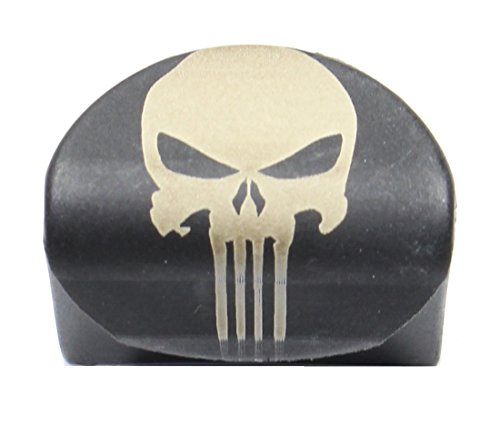 Sure Plug 1 Laser Engraved Skull V2 - Designed For Gen 1-3 Glock Models 17,18,19,20,21,22,23,24,25,31,32,34,35, 37,38