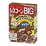 日清シスコ シスコーンBIG サクサクリングチョコ味 170g×10個