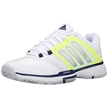 Backhand slice? Sneaky drop shot? Those moves may be no match for your opponent. These shoes, however, are the perfect secret weapon for a technical, aggressive player like you. Super-responsive ADIPRENE®+ foam keeps you ready for quick returns, and ...