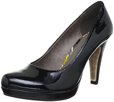 Tamaris 1-1-22426-20, Damen Pumps, Schwarz (BLACK PATENT 095), EU 36