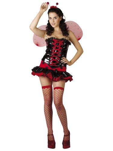 """Costume per adulto """"coccinella"""" superluxe Gr.M"""