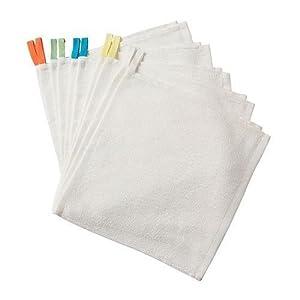 """Ikea - 10 juego de toallitas de bebé """"krama"""" en 30x30cm - 100% algodón - no lejía - BebeHogar.com"""
