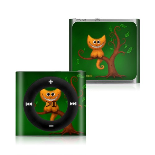 цены Cheshire Kitten Design Protective Decal Skin Sticker for Apple iPod Shuffle 4G (4th Gen) MP3 Player