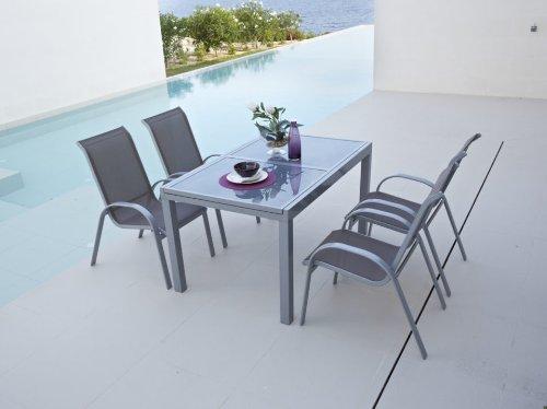 baumarkt direkt Gartenmöbelset »Amalfi« taupe günstig bestellen