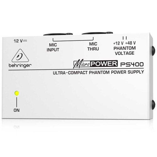 Behringer Ps400 Ultra-Compact Phantom Power Supply