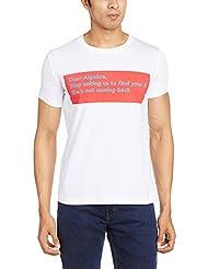 Status Quo Men's Round Neck Cotton T-Shirt - B00NMCMRKO