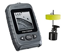 Signstek FF-009 Portable Fish Finder FishFinder With Round Sonar Sensor LED Backlight