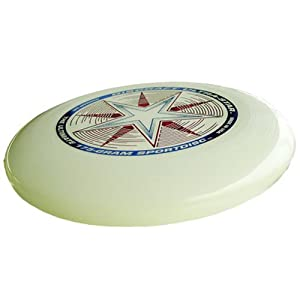 Nite Glow Ultrastar 175 g - Glow in the Dark Flying Disc Made in the USA