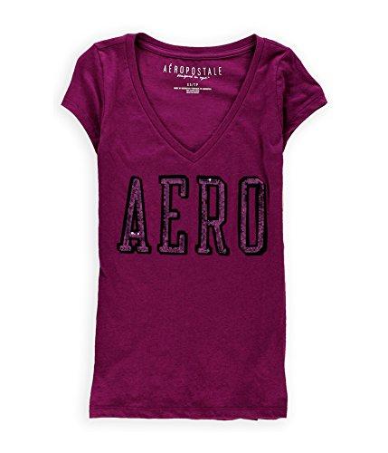 aeropostale-womens-sequined-logo-embellished-t-shirt-596-xl