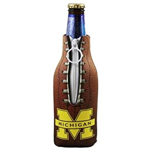 michigan beer can coozies
