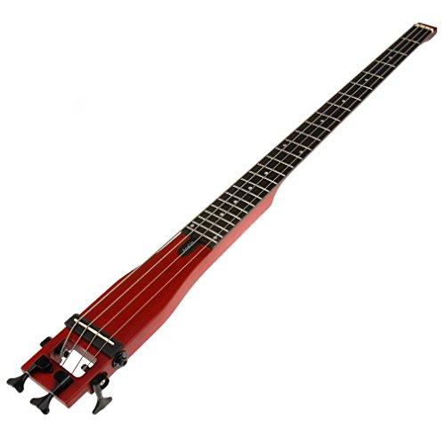 Anygig AGBベース フルスケールの長さ トラベルベースギター バックパッカーポータブル チェリー
