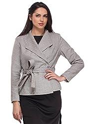 Solid Grey Overcoat