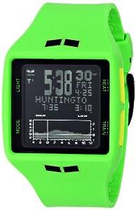 Vestal Men's BRG022 Brig Tide & Train Digital Display Japanese Quartz Green Watch