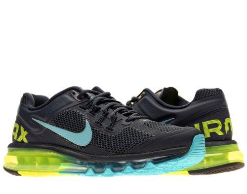 Nike Mens Air Max 2013 Running Shoes Armory Navy Gamma Blue