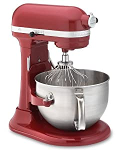 Kitchenaid Professional 610 Stand Mixer, Empire Red