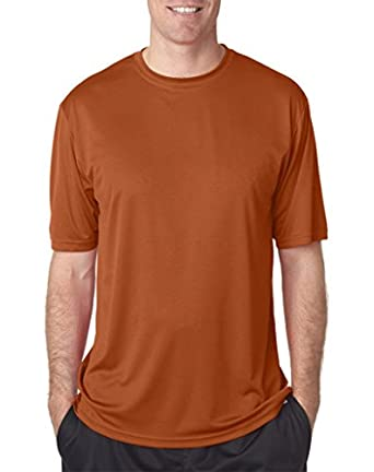 A4 Men's Cooling Performance Crew (Texas Orange) (Small)