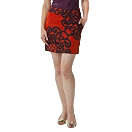 Product Image Merona® Collection Women's Eden Skirt - Orange Print