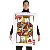 King of Hearts Deluxe Playing Card Adult Costume ハートのキングデラックストランプ大人用コスチューム♪ハロウィン♪サイズ:L/XL