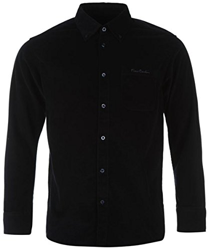 mens-classic-long-sleeve-corduroy-cotton-shirt-medium-navy