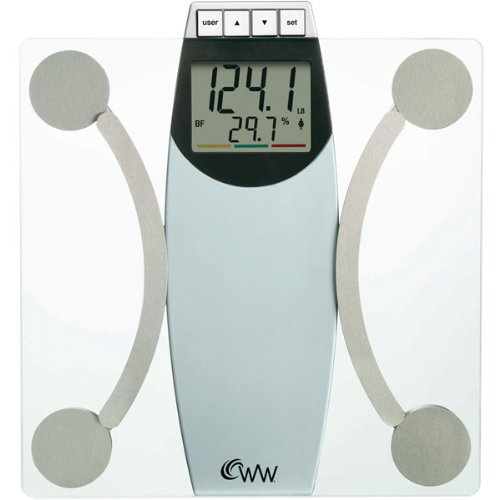 Cheap WeightWatchers Glass Body Analysis Scale (DQ3087)